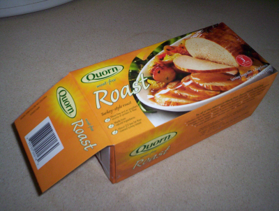 Quorn loaf, in the box
